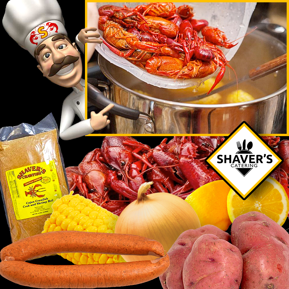 Shaver's Catering Crawfish Stove Top Recipe