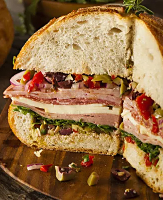 Shaver's Catering Muffaletta