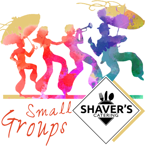 Shaver's Catering Small Groups Menu